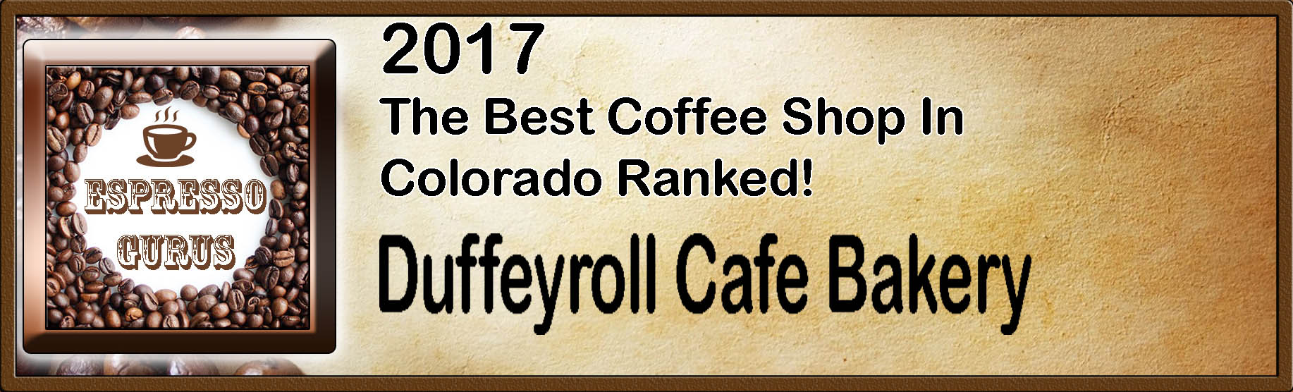 The Best Coffee Shop in Colorado Ranked 2017