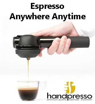 Handpresso Wild Hybrid Works With Coffee Grounds & ESE Pods