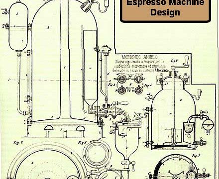 First Espresso Machine Design