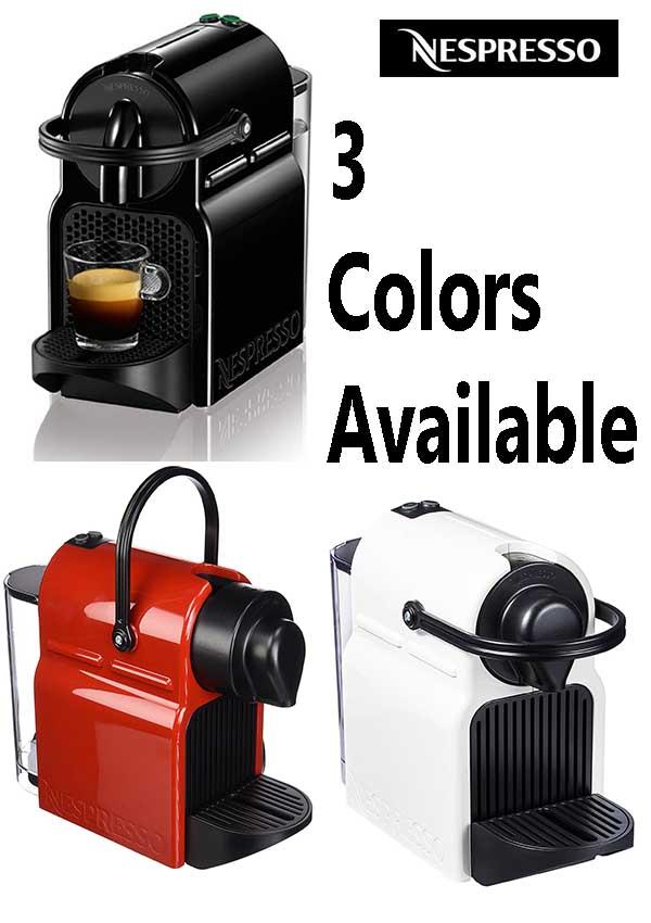 Nespresso Machine - Compact & Colorful