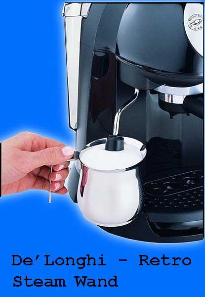 Durable Stainless Steel Boiler - De'Longhi Espresso Machine