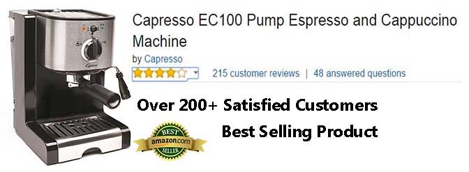 Capresso Espresso Machine Customer Ratings