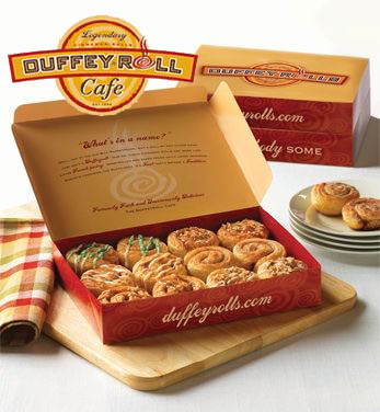 Duffeyroll Cafe: The Menu