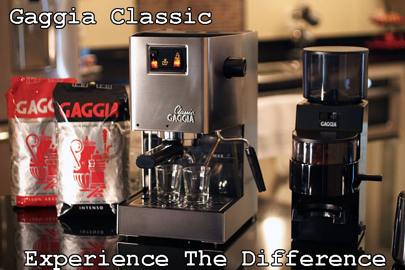 Gaggia Classic Commercial Features