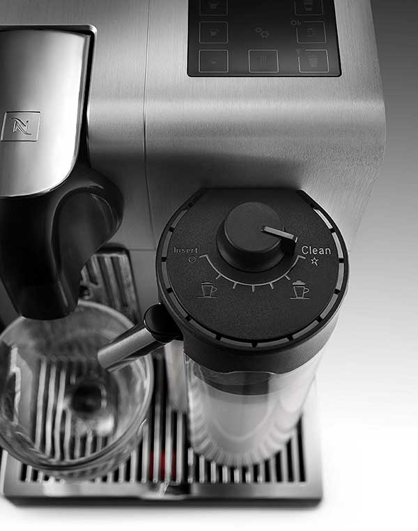 De'Longhi's Nespresso Lattissima Pro Comes With Chrome Plated Cup Support