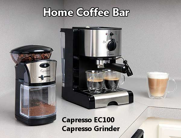 Awesome Design & Compact Size Make Capresso EC100 Ideal For Any Kitchen or Office