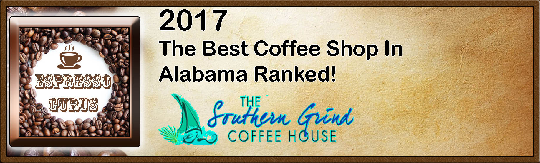 The Best Coffee Shop in Alabama Ranked – 2017