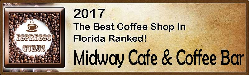 The Best Coffee Shop in Florida Ranked 2017
