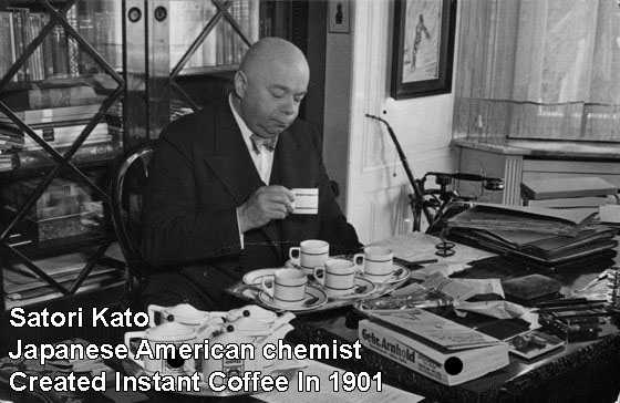 Satori Kato: Japanese American Chemist Creates Instant Coffee In 1901