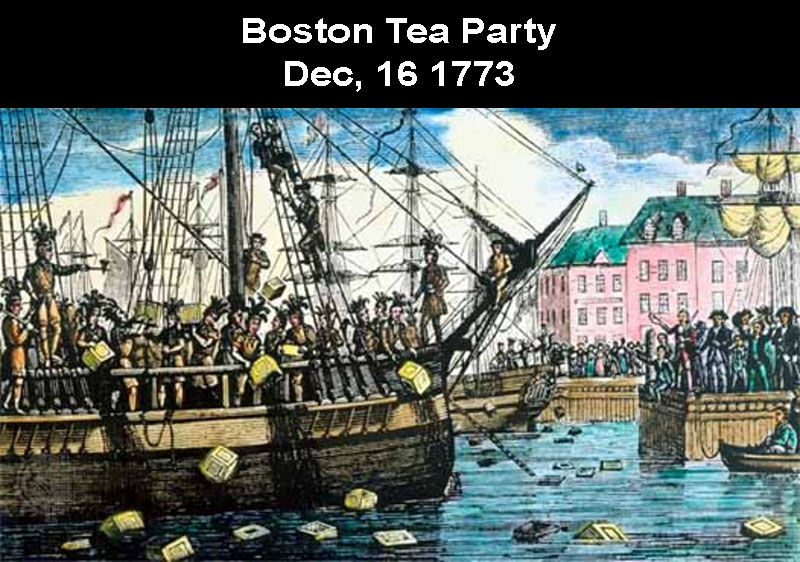 Boston Tea Party 1773: Coffee Gets Taxed In U.S.