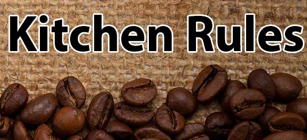 The Kitchen Rules For Opening A Coffee Shop
