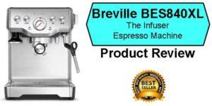 Breville BES840XL The Infuser Best Espresso Machine Under 500