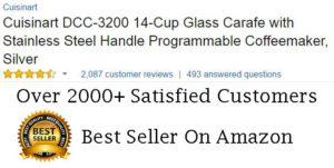 Cuisinart DCC-3200 Coffee Maker Customer Ratings