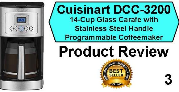 Cuisinart DCC-3200 Coffee Maker Review- Best Coffee Machine