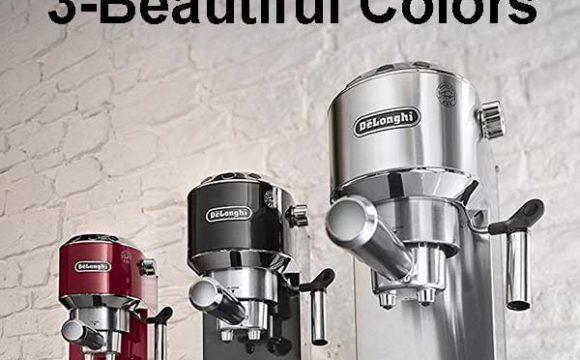 Best Espresso Machine Under 300 - Delonghi EC680M Colors Available