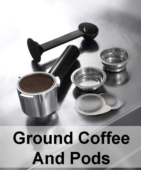 best espresso machine under 300 dollars - Delonghi EC680M Ground Coffee And Pods