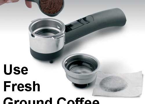 best espresso machine under 200 - Delonghi EC702 ground coffee and pods