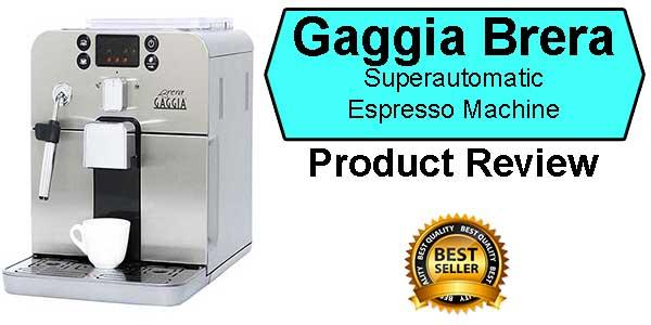 Gaggia Brera Espresso Machine Price