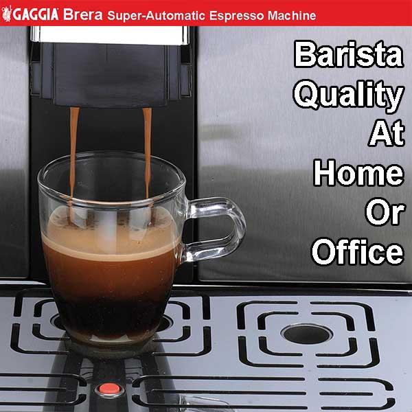 gaggia brera espresso machine review