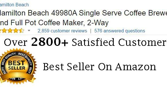 Hamilton Beach 49980A Coffee Machine Customer Ratings