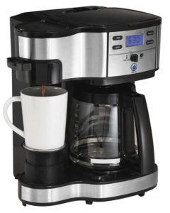 Hamilton Beach 49980A Single Serve & Full Pot Coffee Machine - Best Coffee Machine
