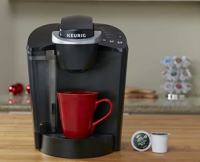 Best Coffee Maker Using K Cups : Keurig K55 Single Serve K-Cup Coffee Machine- Best Coffee Machine Espresso Guru