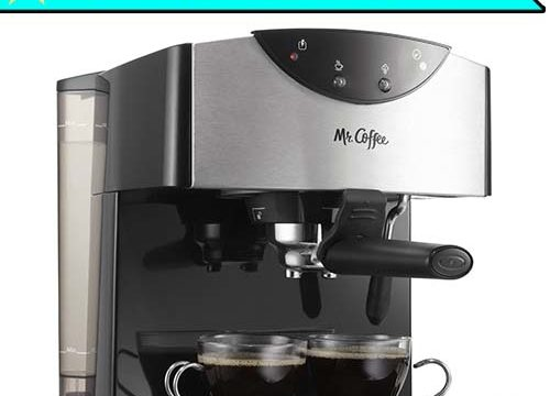 best espresso machine under 100 - Mr. Coffee espresso machine