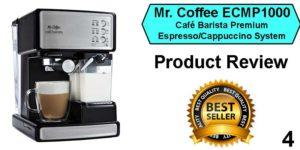 best espresso machine under 200 Mr. Coffee ECMP1000