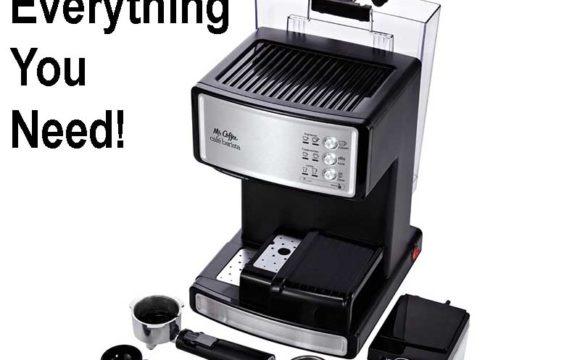 best espresso machine under 200 - Mr. Coffee ECMP1000 for sale