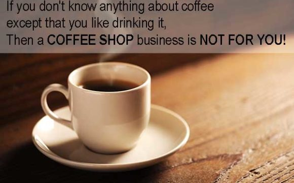 business experience starting a coffee shop
