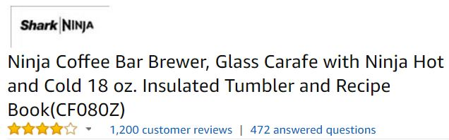 Best Drip Coffee Maker Customer ratings