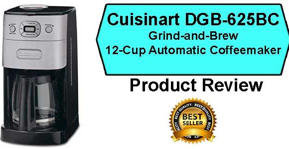 Cuisinart DGB-625BC Grind and Brew Coffee Maker Review
