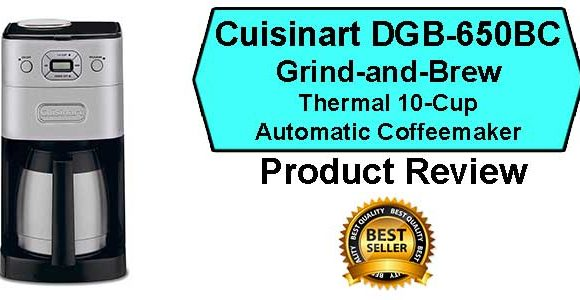 Cuisinart DGB-650BC Coffee Maker Review