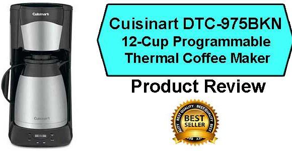Cuisinart DTC-975BKN Coffee Maker Review