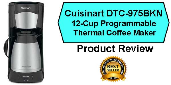 Cuisinart DTC-975BKN Coffee Maker Review