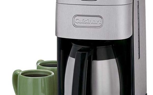 Vacuum Coffee Maker Grind Size : Cuisinart coffee maker DGB-650BC grind and brew coffee maker for sale