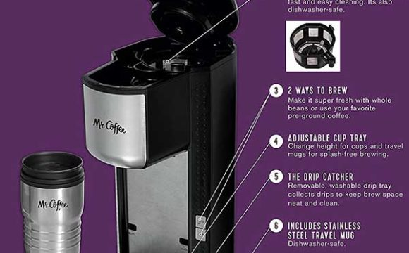 Grind and brew coffee maker features