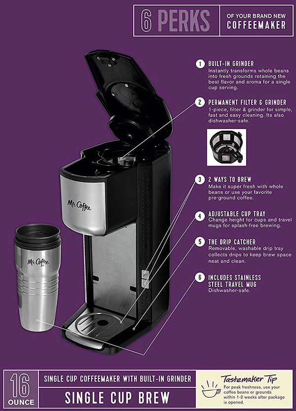 Mr Coffee Grind And Brew Coffee Maker Scgb200 Review