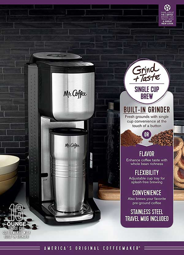 Coffee Maker Grind And Brew Ratings : Mr. Coffee Grind and Brew Coffee Maker (SCGB200) Review