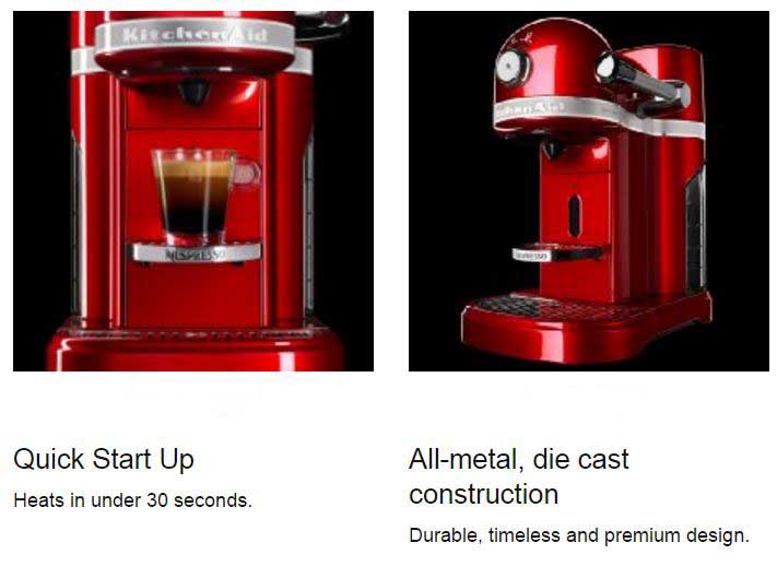 KitchenAid Nespresso buying guide