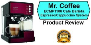 Mr. Coffee Barista System Price