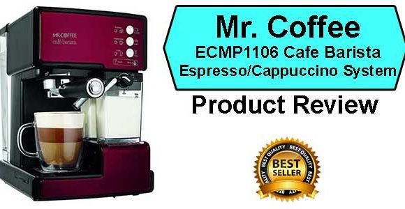 Mr. Coffee Barista System Price