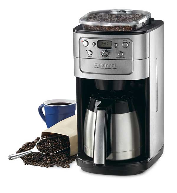 cuisinart coffee maker DGB-900BC Grind And Brew Coffee Maker