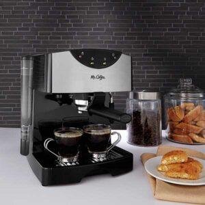 espresso machine features