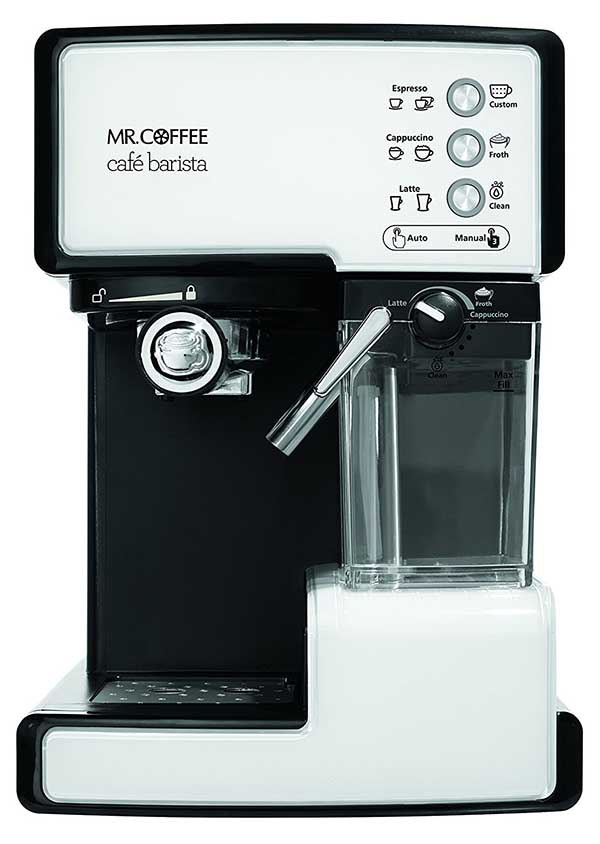 Coffee Maker Clean Button : Mr. Coffee ECMP1102 Cafe Barista Premium Espresso Machine & Cappuccino System Review