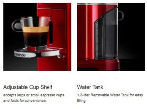 KitchenAid Nespresso System