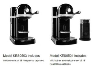 kitchenaid nespresso price