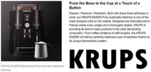 Krups EA8250 buying guide