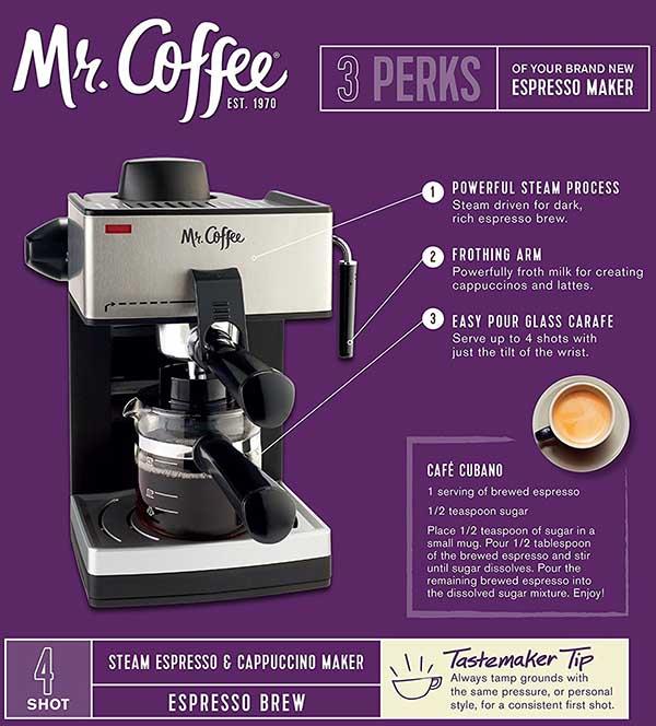 steam espresso bar review
