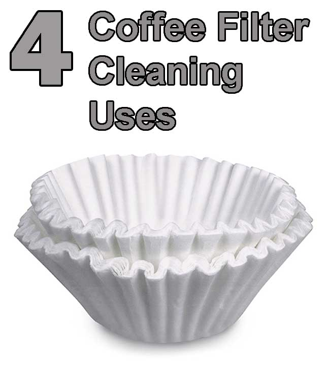 4 coffee filter cleaning uses